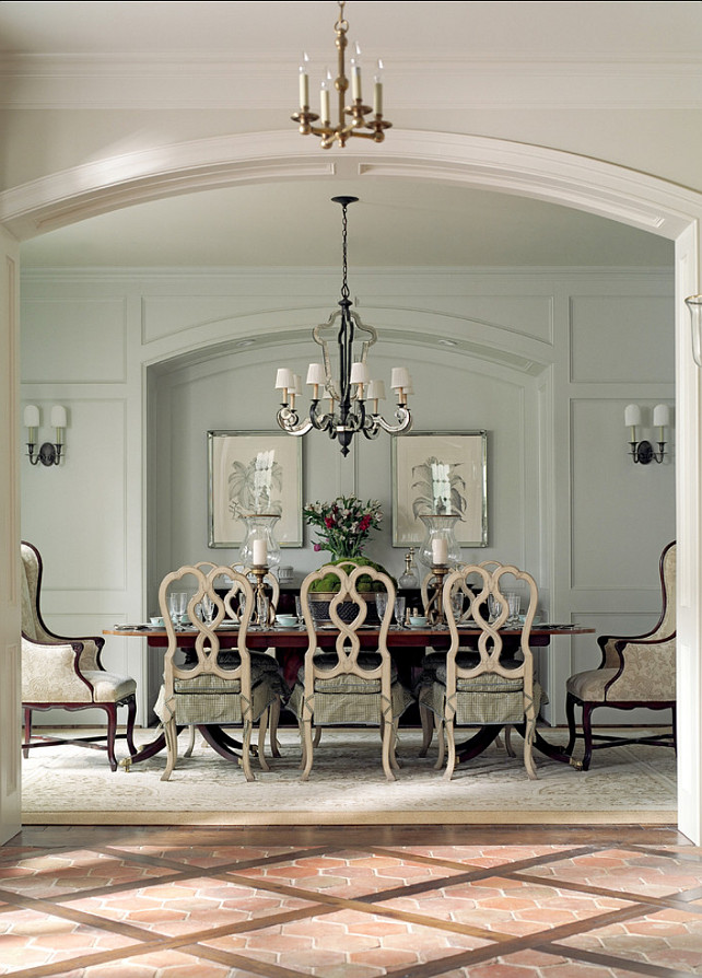 Traditional french home with timeless interiors home for Dining room in french