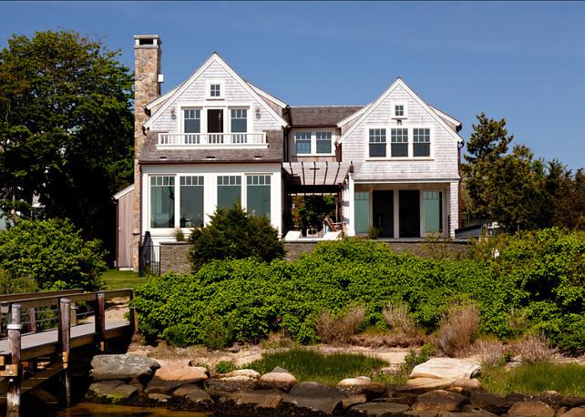 Shingled Cottage. Gorgeous shingled cottage. #Cottage #Architecture
