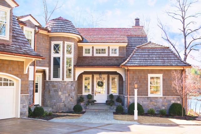 Shingle Style Lake House
