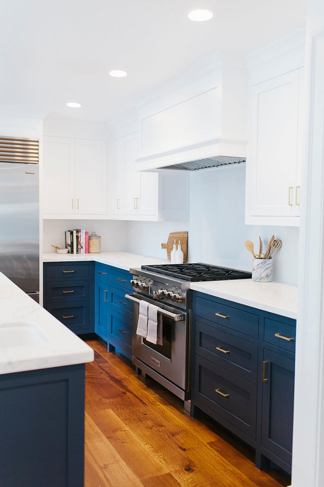 Before And After Two Toned Kitchen Reno Home Bunch