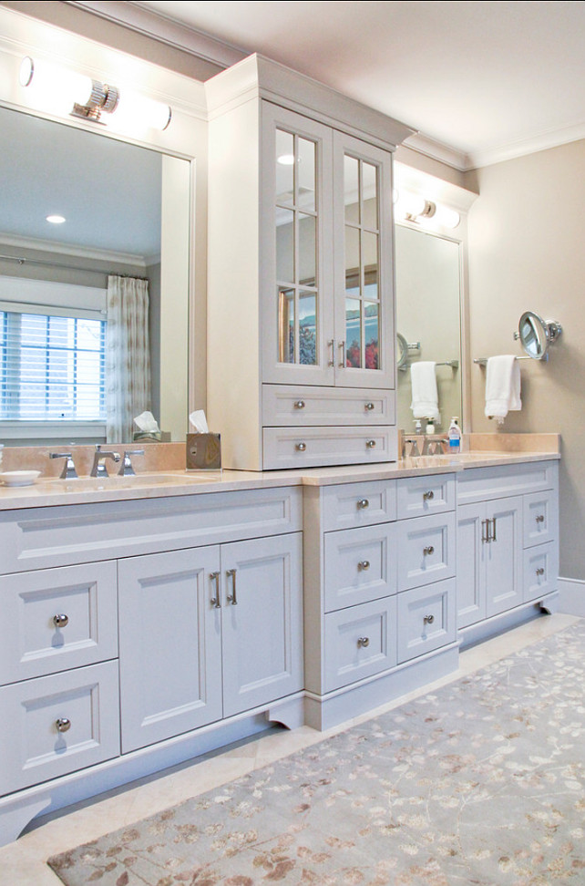 Charming home with inspiring interiors home bunch - Beautiful bathroom vanity furniture ...