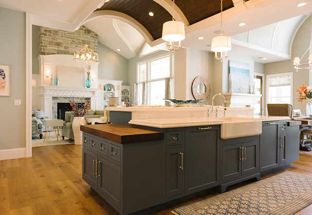 Kitchen island. Kitchen Island Layout. Kitchen island white countertop. Kitchen island butcher block. Kitchen island farmhouse sink. Kitchen island apron sink. Kitchen island gooseneck faucet. Kitchen island pendant lighting. Kitchen island hardware. Navy Kitchen island. # Kitchenisland Four Chairs Furniture.