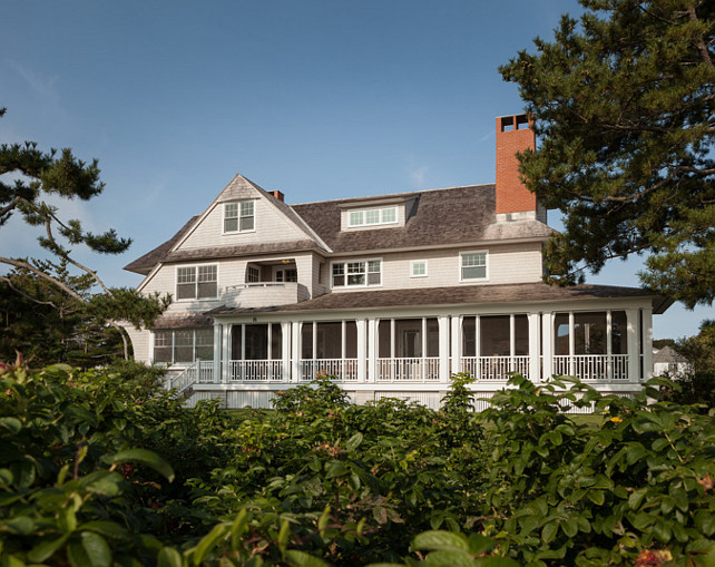 Shingle Style Oceanfront Cottage Home Bunch Interior