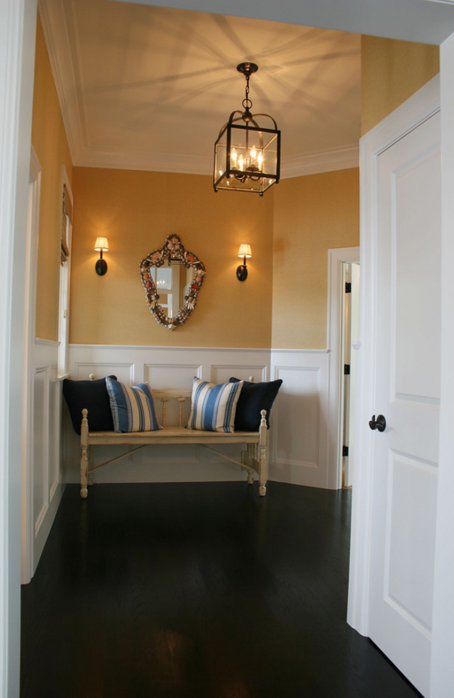 Yellow Foyer Paint : Family home bunch interior design ideas