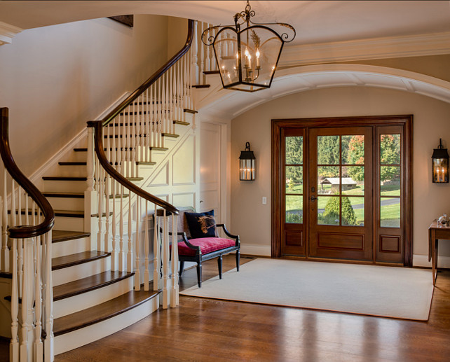 Entryway Design Ideas. Traditional Entryway Design. #Entryway #Traditional #Interiors