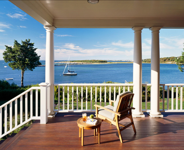 Porch. Nothing better than sit on a porch and enjoy the ocean's breeze. I love summer! #Porch