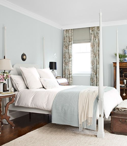 carter colors by benjamin moore and the duvet and shams are by area