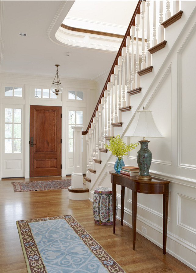 Traditional Home Foyer Decor : Classic family home with traditional interiors