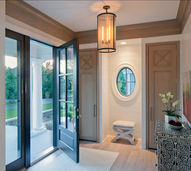 Entry Foyer Doors : Shingle style family home bunch interior design ideas