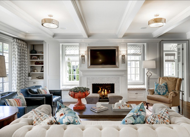 Gray Owl Benjamin Moore Living Room