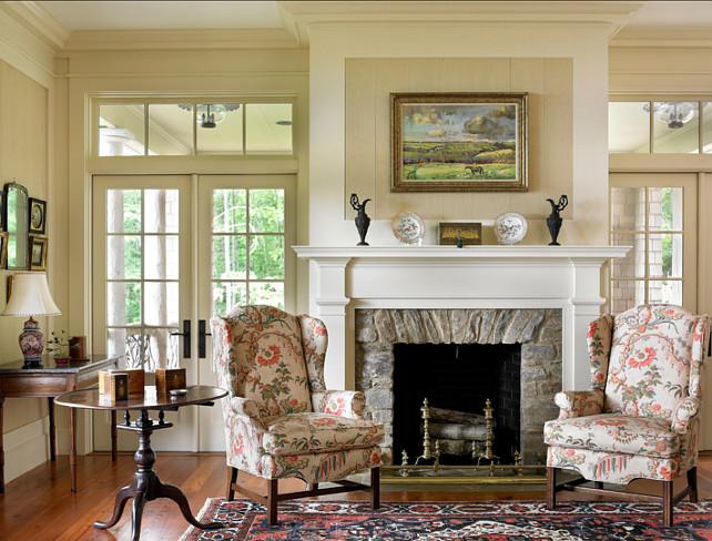 Living Room. Traditional Living Room Design. #LivingRoom #Traditional #HomeDecor #Interiors