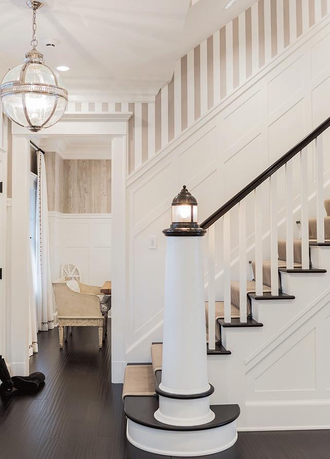 Coastal Foyer Lighting : Classic family home with coastal interiors bunch