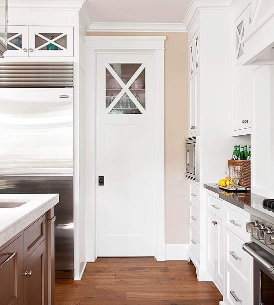 Simple Yet Well Organized Pantry Example photo - 8