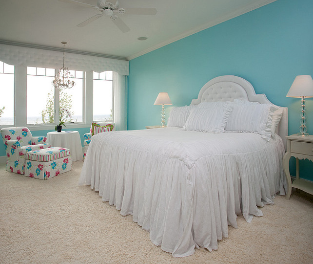Turquoise Bedroom Paint Color