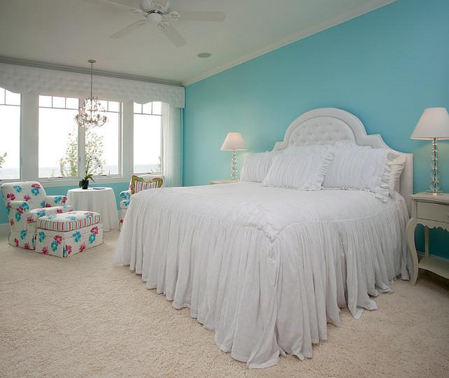 Turquoise Bedroom Paint Color Benjamin Moore 2056 60 Blue Seafoam