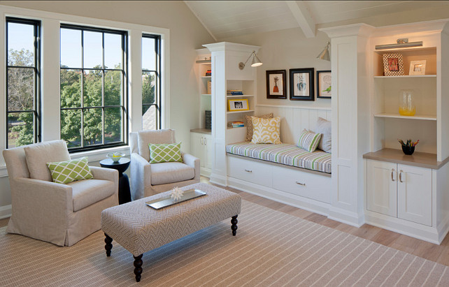 Shingle style family home home bunch interior design ideas for Reading space design