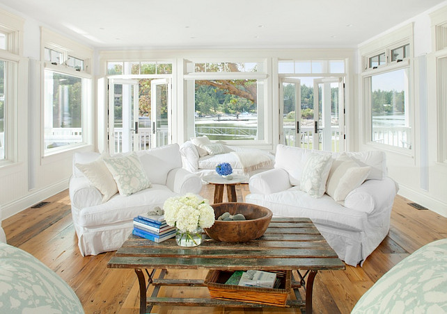 Coastal Living Room Design Coastal LivingRoom Interiors Nautical