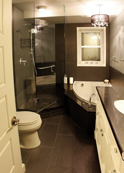 Ideas for small spaces home bunch interior design ideas for Bathroom ideas small spaces photos