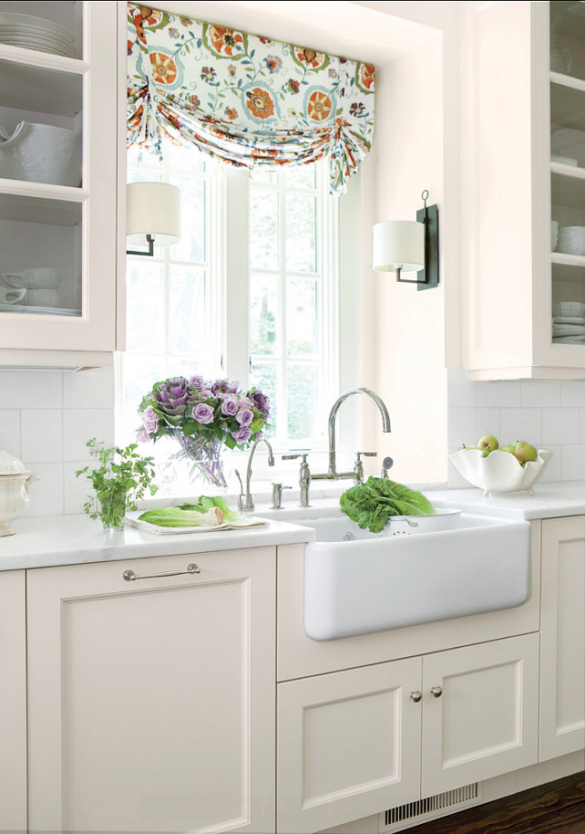 Kitchen Apron Sink Ideas. This is the classic Shaws Original apron-front sink from ROHL. #Kitchen #Sink #ApronSink #ROHL
