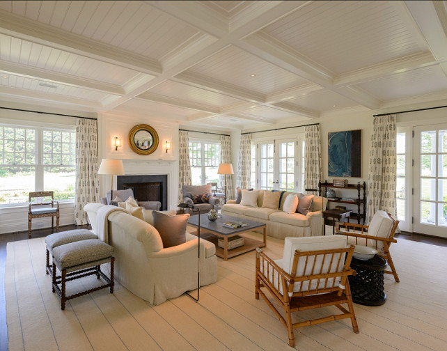 Classic Hamptons Beach House Home Bunch Interior Design Ideas