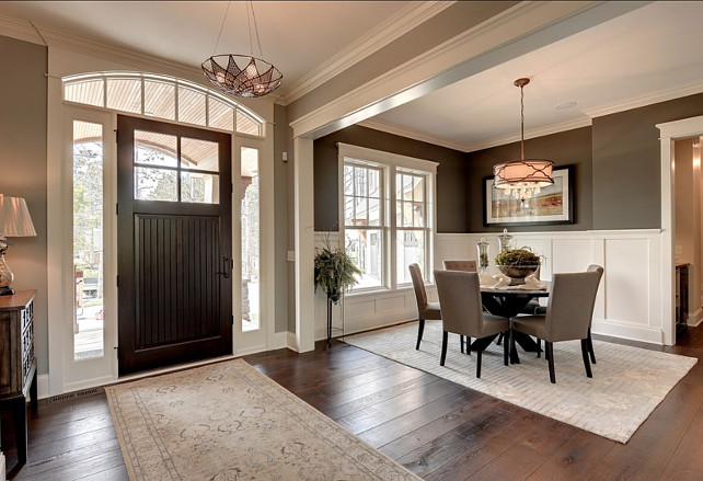 Foyer Open To Living Room : Beautiful family home with trendy interiors bunch