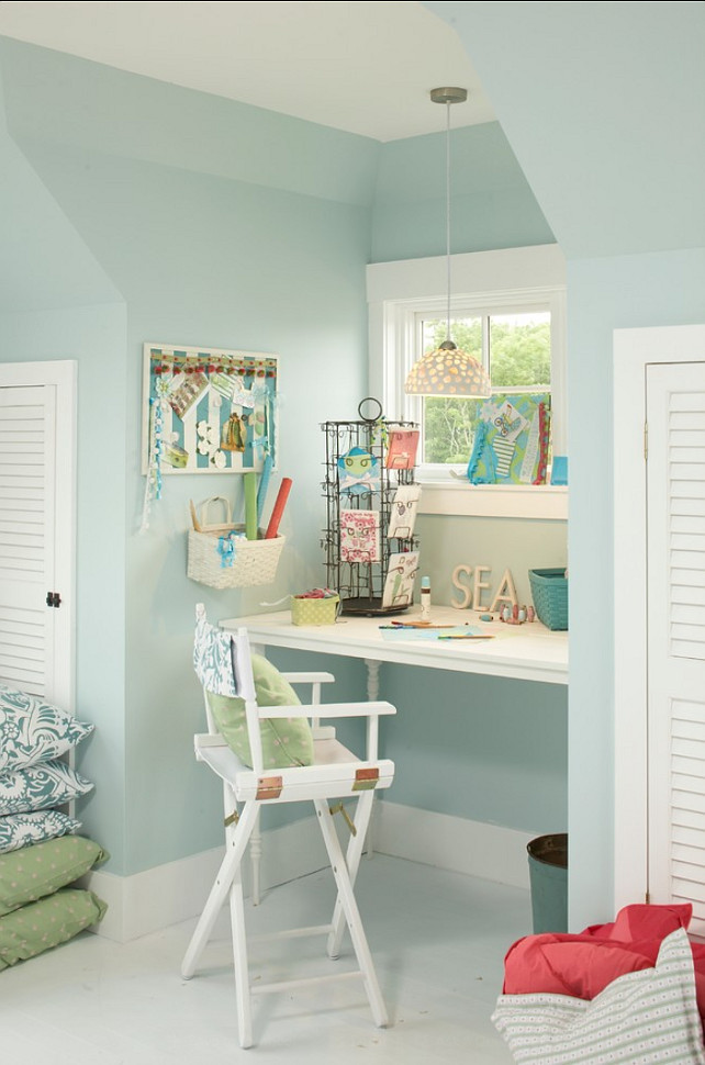 Turquoise Paint Color This