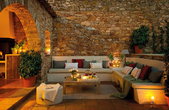 Outdoor Living Spaces. Great ideas for outdoor living spaces. #Outdoor #Living #Spaces
