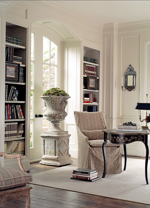 Traditional French Interiors. This entire home has beautiful French interiors with timeless decor. #FrenchInteriors #Homes #Blogs