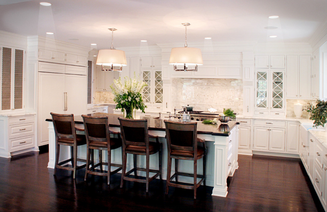Model Home White Kitchen Magnificent White Kitchen Design  Home Bunch  Interior Design Ideas Review