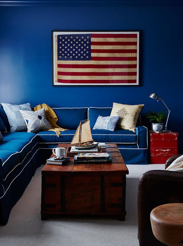 Americana Room Style. Americana Decor. Americana Spaces. Americana Style  Interiors. Americana
