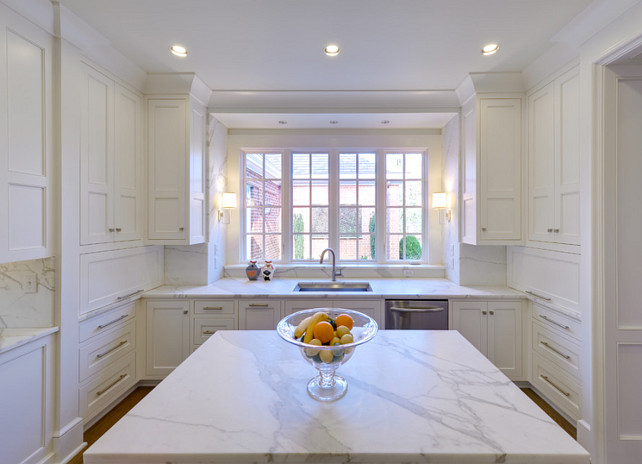 White Kitchen, Great White Kitchen. #WhiteKitchen #Kitchen #White #Interiors