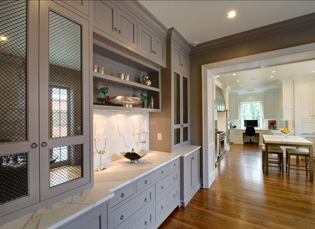 Kitchen Cabinet Ideas. #Kitchen #Interiors #Cabinet