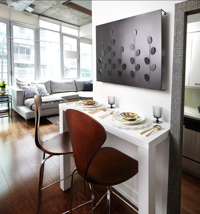 Apartment Interior Ideas. Lisa Petrole Photography. Designed by Lux Design Inc.