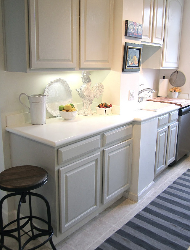 Revere pewter kitchen