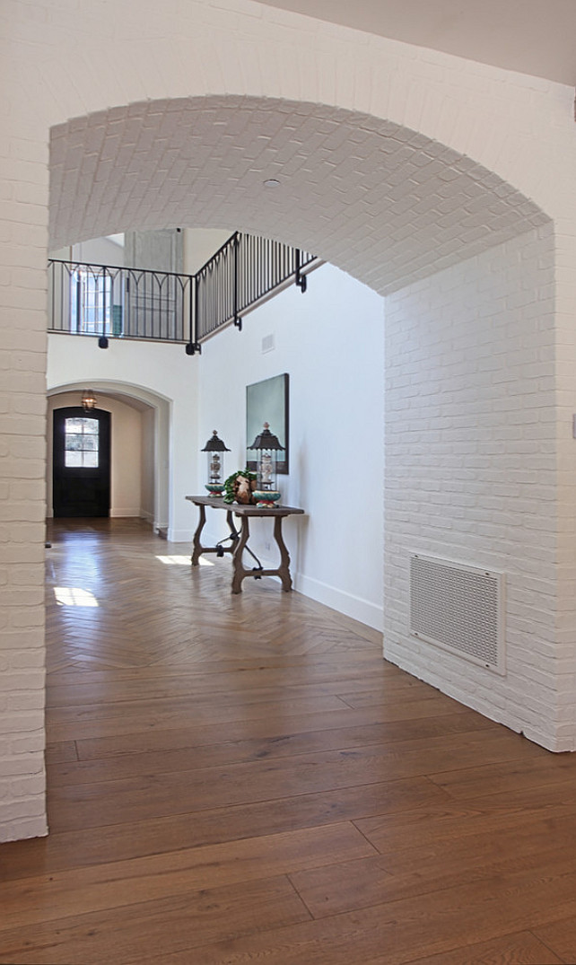 Foyer Arch Designs : Transitional french interior design home bunch