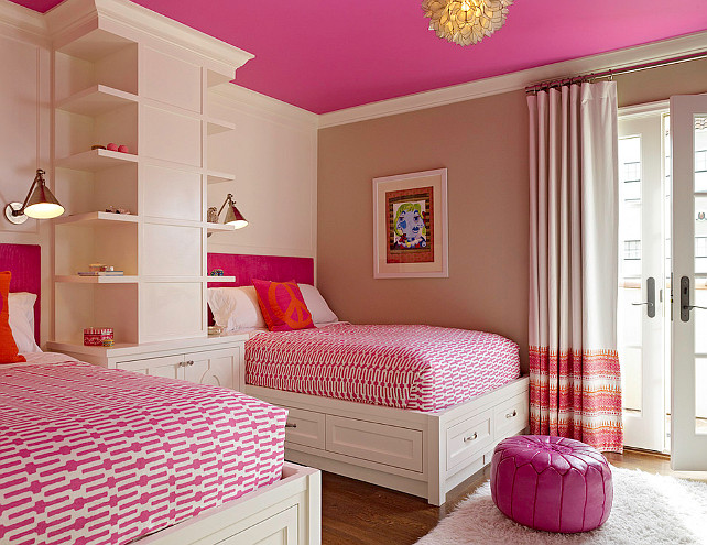 Raspberry Bedroom Ideas: Interior Design Ideas: Paint Color