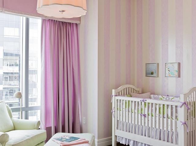 Baby Girl Nursery Design. #NurseryDesign #BabyGirlNursery  Terrat Elms Interior Design.