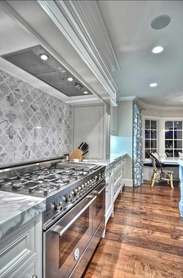 Backsplash. Kitchen Backsplash. The backsplash was purchased through GBI in Orange County. It was a custom mosaic. It was a custom mosaic. Marble Mosaic Backsplash. #Backsplash #KitchenBacksplash #MarbleMosaicBacksplash Spinnaker Development.