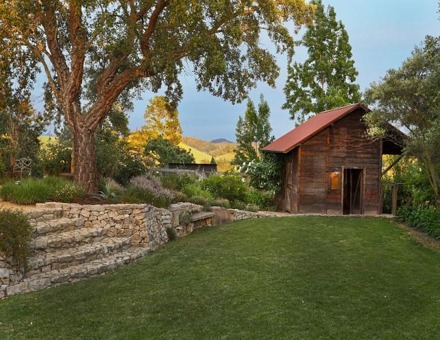 Backyard Cottage. Backyard Cottage Ideas. Romantic backyard cottage. #Cottage #Backyard