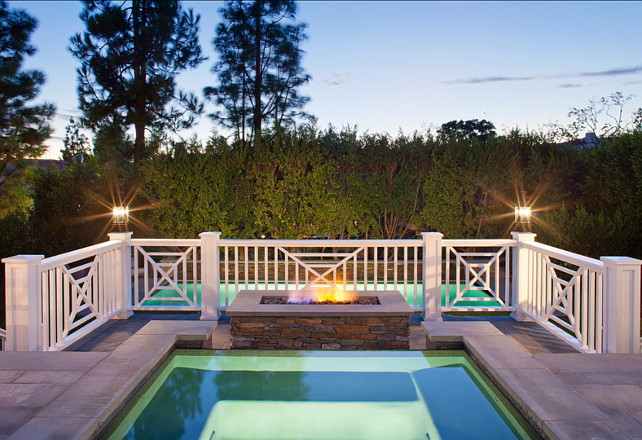 Backyard Ideas. Backyard with spa. Backyard with spa and pool. #Backyard #Pool #Spa