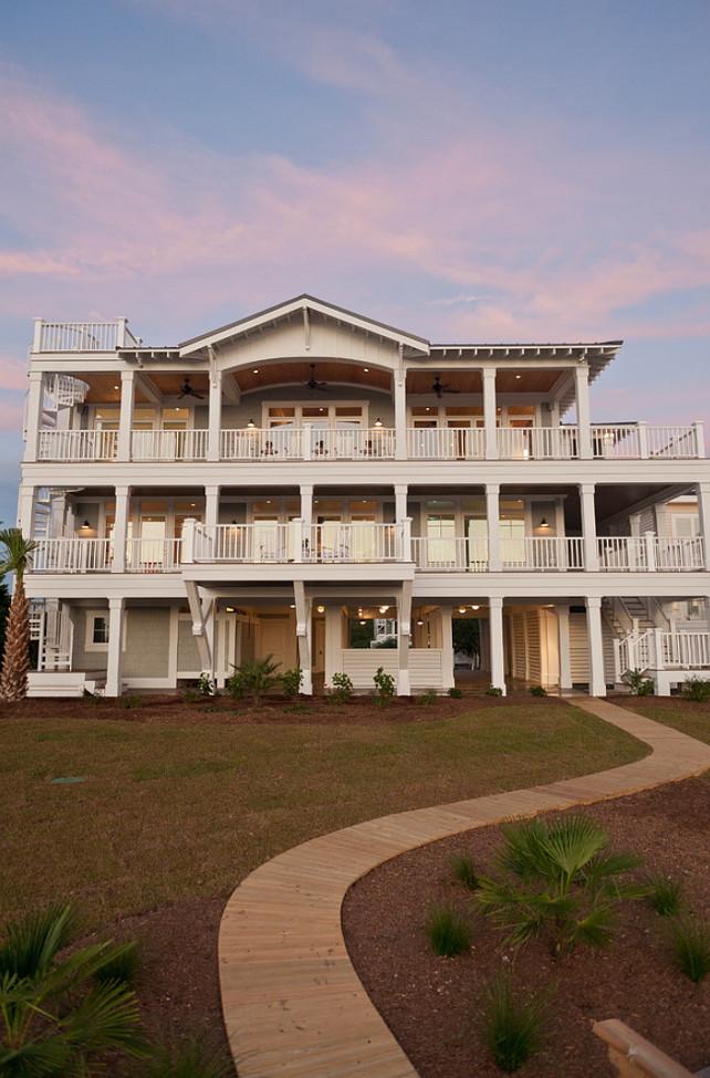 Backyard Ideas. Beach House Backyard Ideas. #Backyard #BackyardIdeas #BeachHouseBackyard Blue Sky Building Company.
