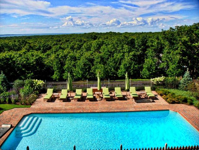 Backyard. Pool Backyard Plan. Pool Backyard Design #Pool #Backyard Via Sotheby's Homes.