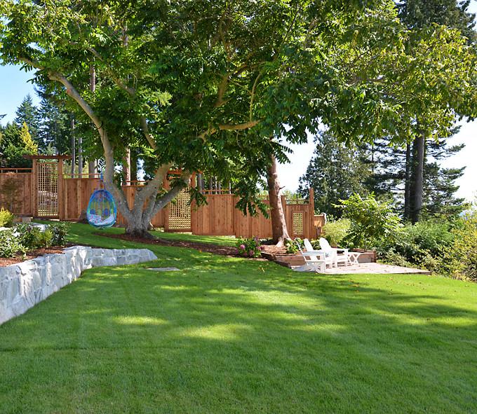Backyard. Sunshine Coast Home Design.