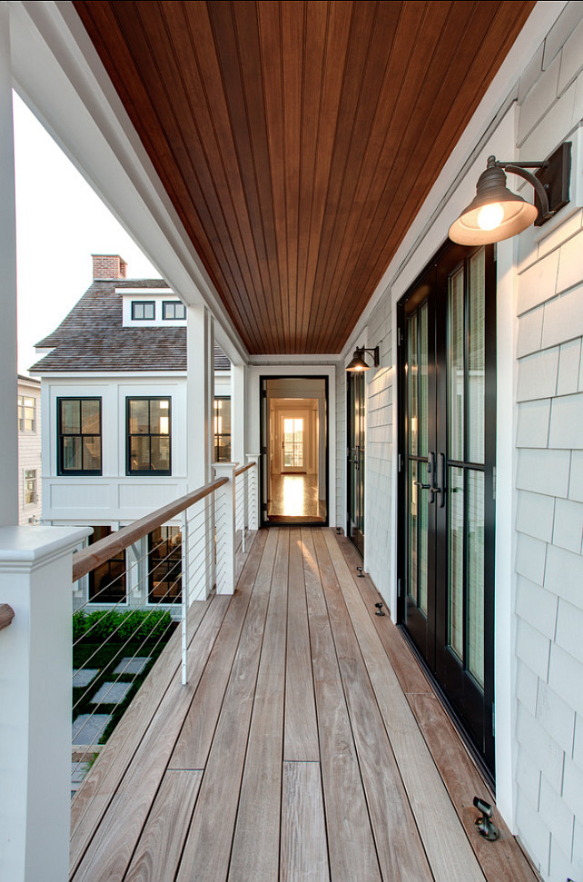 Beach House with Transitional Interiors - Home Bunch ...