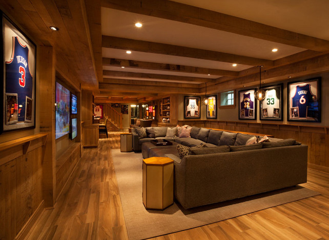Basement Ideas. Basement Design. #Basement #BasementIdeas #BasementDecor Garrison Hullinger Interior Design Inc.