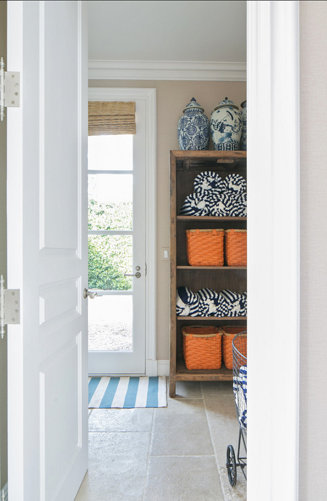 Basket Storage Ideas. #StorageIdeas #Baskets Brooke Wagner Design.