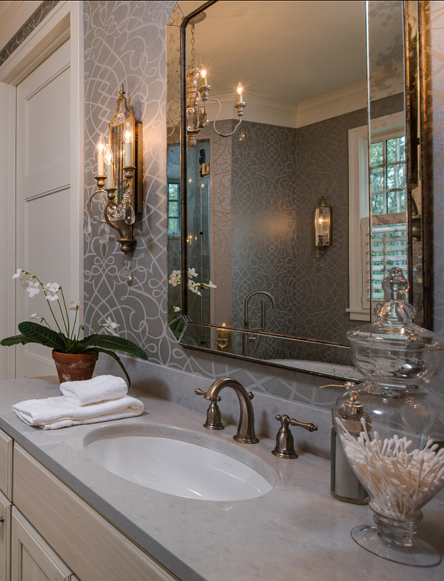 Master bathroom decor 28 images a feast for the for Z gallerie bathroom design