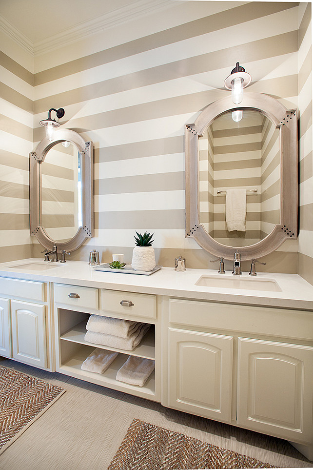 Bathroom Design Ideas With Stripes ~ Interior design ideas home bunch