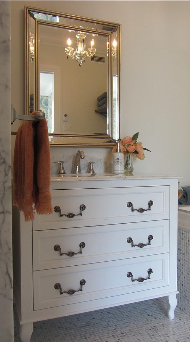 Bathroom Design. Beautiful bathroom design. Mirror is from renwil.com style MT941. #Bathroom #BathroomDesign