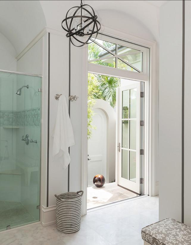 Bathroom Design. Bright Bathroom Design. AlliKristé Custom Cabinetry and Kitchen Design.